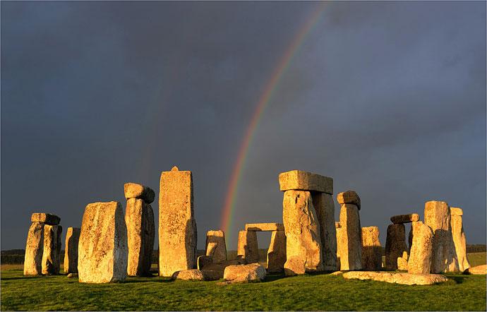 EFIAP Stonehenge Rainbow