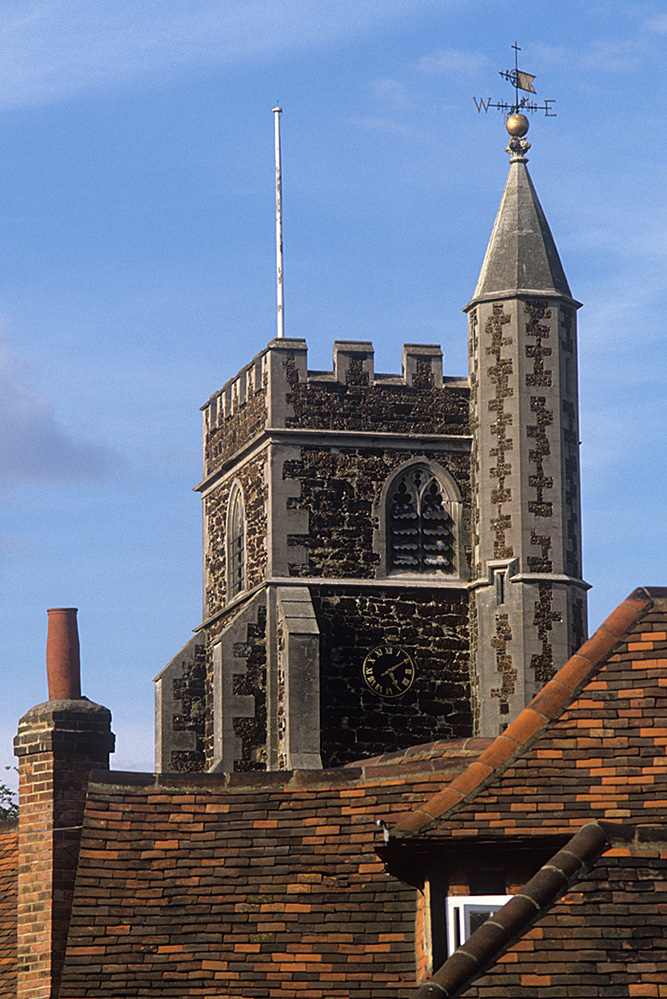 All Saints Church Tower and Roofs, Wokingham