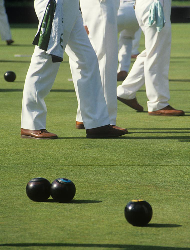 At the Bowling Club, Wokingham