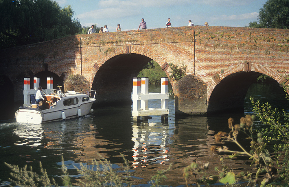 Sonning Bridge, River Thames