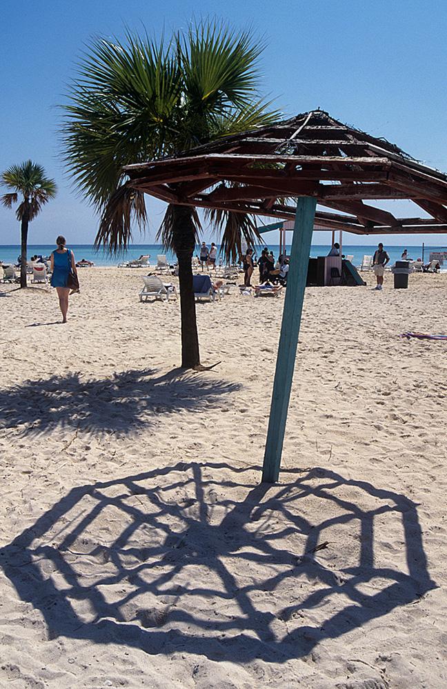 Antigua Umbrella Shadow