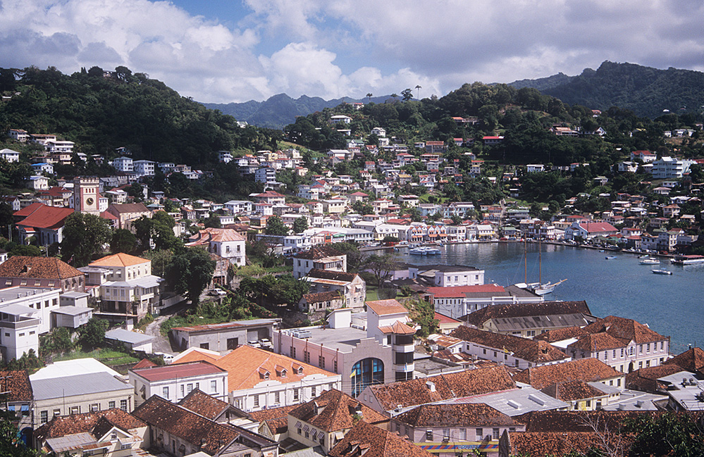 Grenada View over St George's