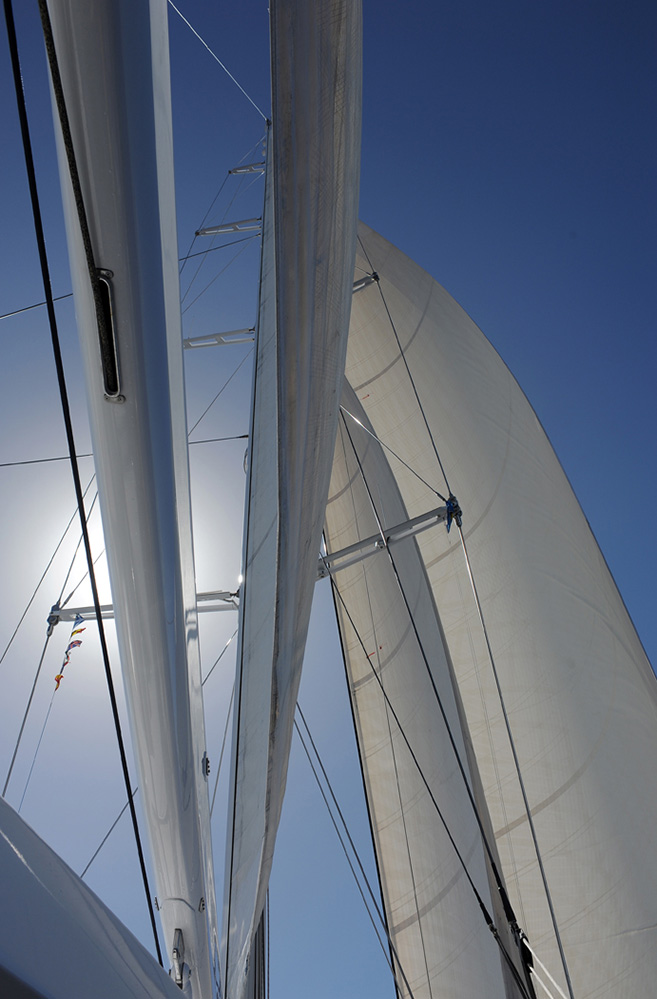 Grenada Yacht Boom and Sails