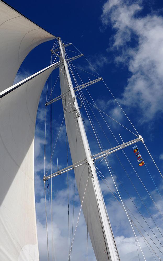 Grenada Yacht Mast and Sails