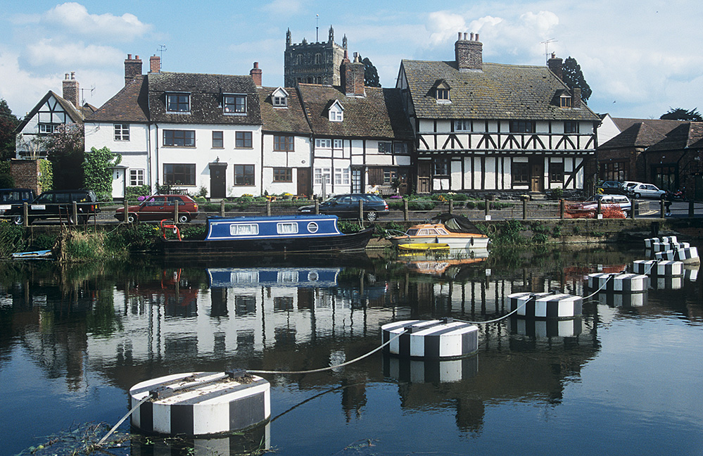 By the River Avon, Tewkesbury