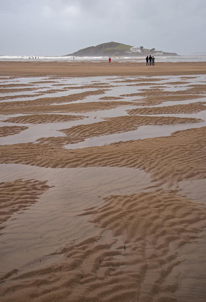 Burgh Island from Bantham Sands 2