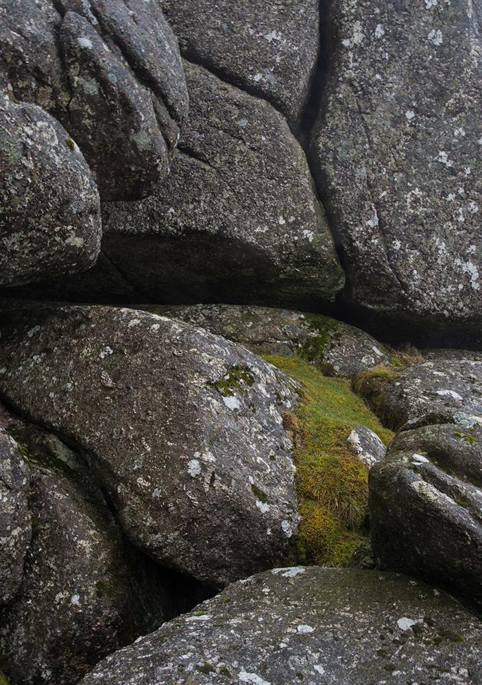 Granite on Chinkwell Tor, Dartmoor