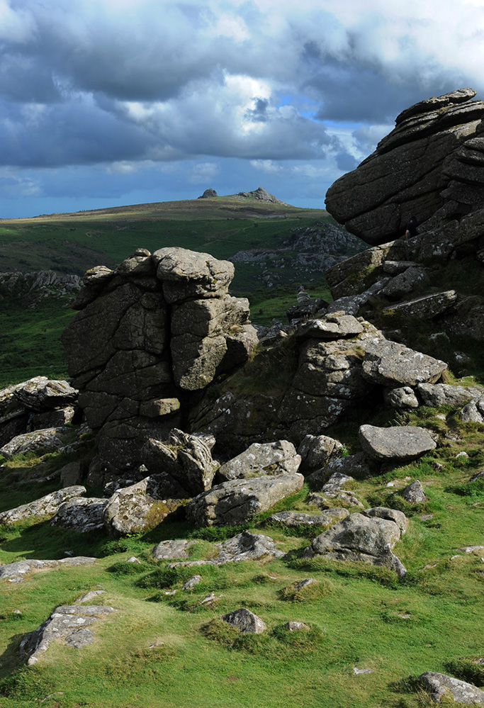 View from Hound Tor, Dartmoor