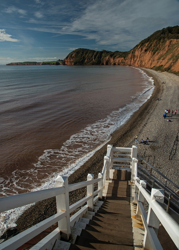 View from Jacob's Ladder, Sidmouth
