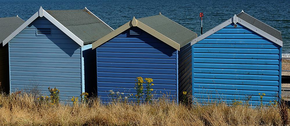 Beach Hut Trio, Friars Cliff