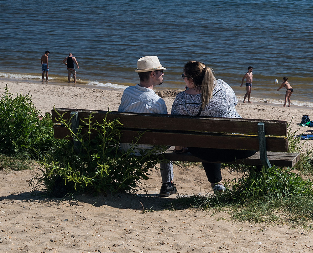 Bench Conversation, Southbourne