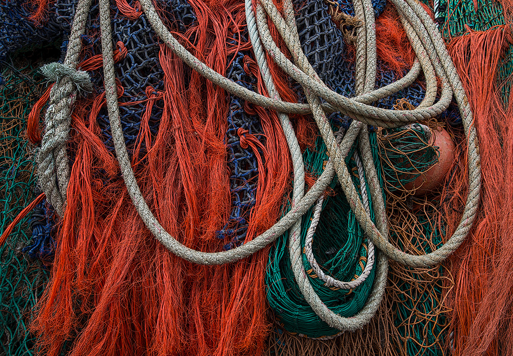 Nets and Rope, Lyme Regis