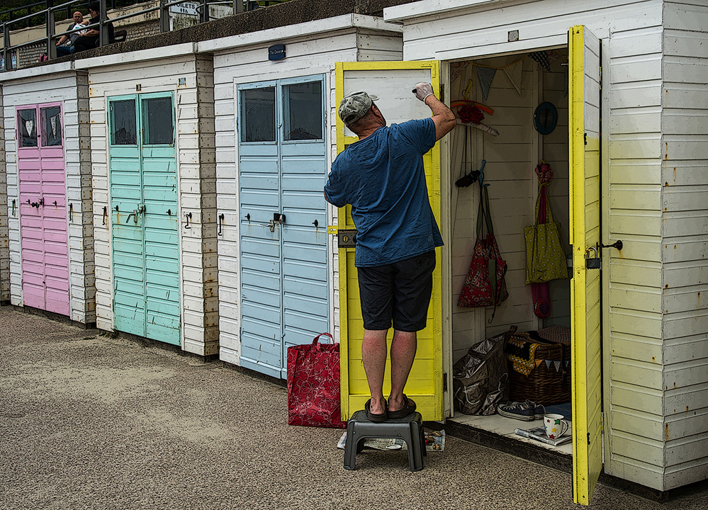 Painter Man, Lyme Regis