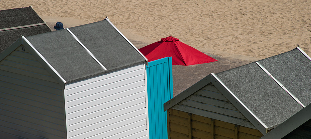 Umbrella and Hat, Southbourne