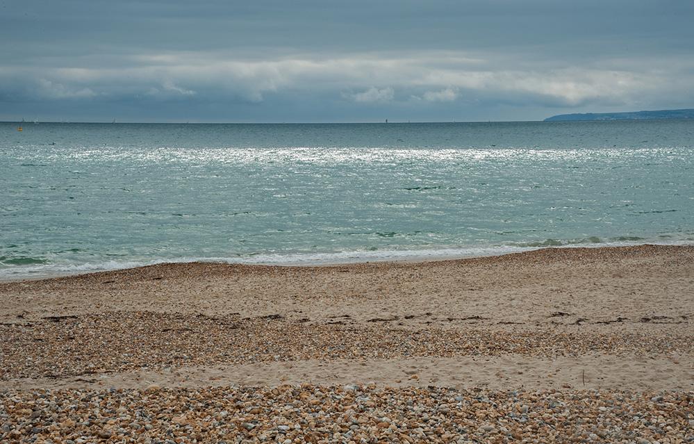 View from Hengistbury Beach