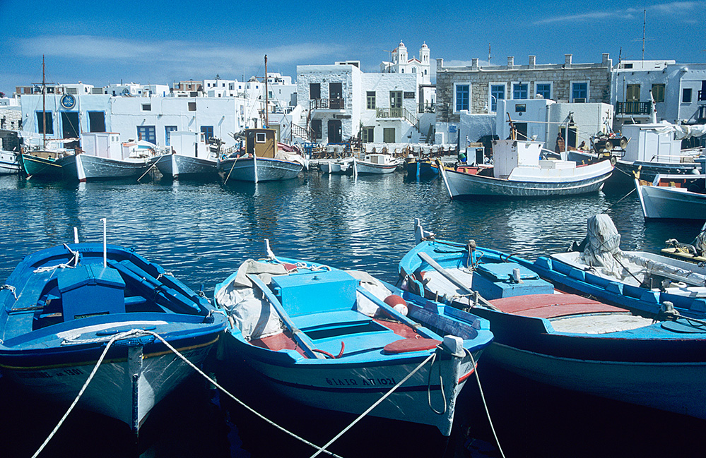 Fishing Boats, Naousa Harbour, Paros