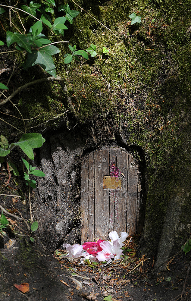 Furzey Gardens New Forest Fairy Door 'Aristotle's Abode'