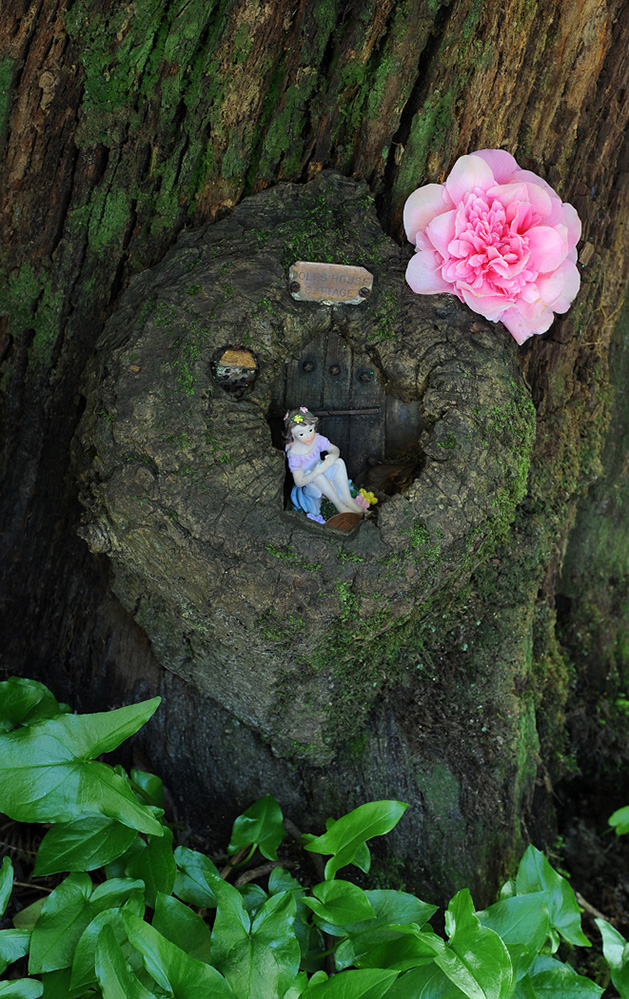 Furzey Gardens New Forest Fairy Door 'Dolls House Cottage'