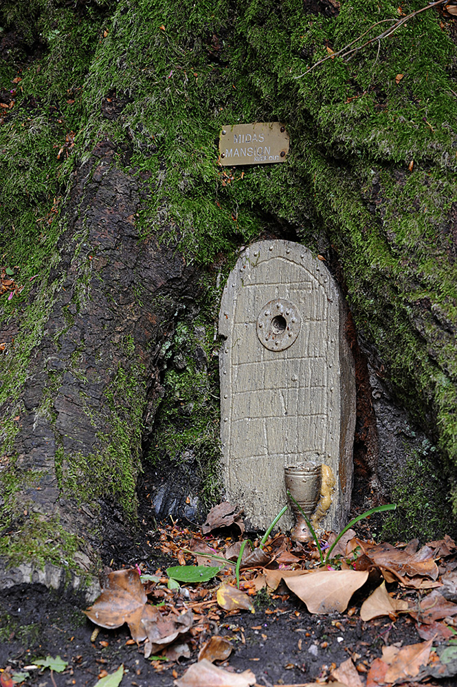 Furzey Gardens New Forest Fairy Door 'Midas Mansion'