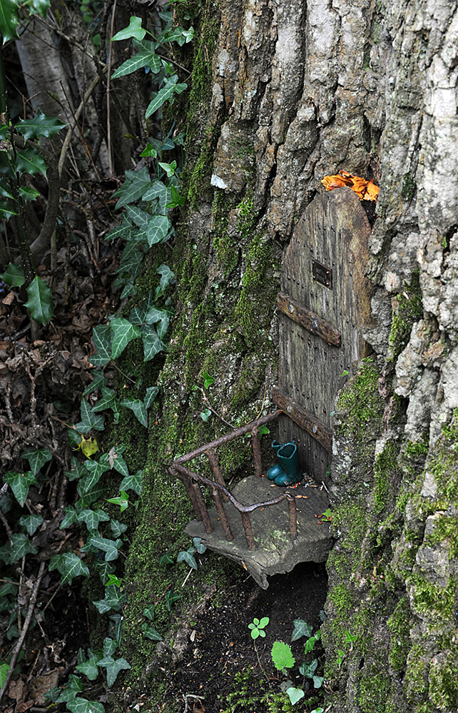 Furzey Gardens New Forest Fairy Door 'Moss Side'
