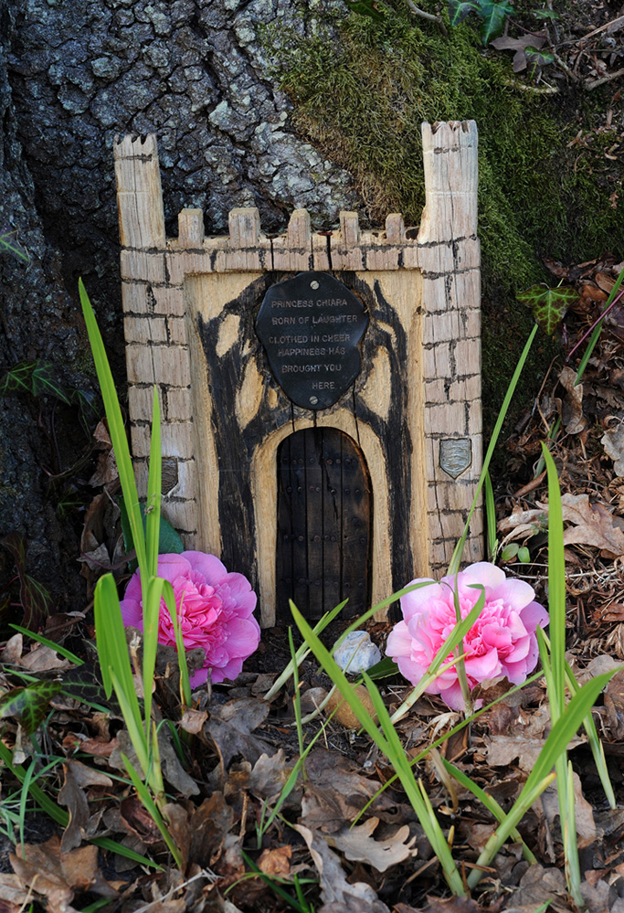 Furzey Gardens New Forest Fairy Door 'Princess Chiara'