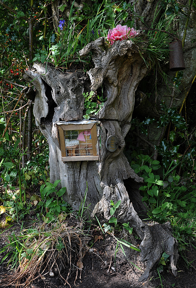 Furzey Gardens New Forest Fairy Door 'The School for Tiny Fairies'