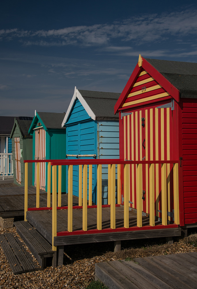 Beach Huts, Milford on Sea 2