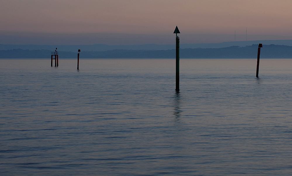 Blue Light on the Solent, Lepe
