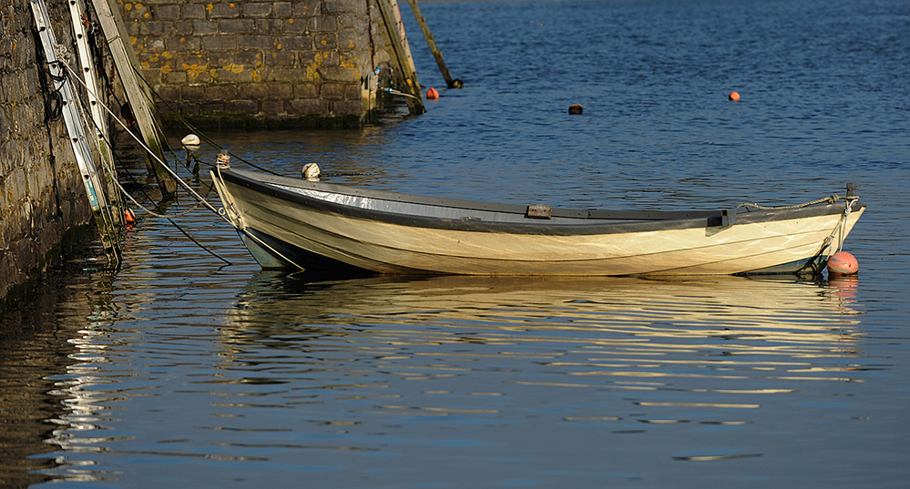 Boat in Keyhaven Harbour