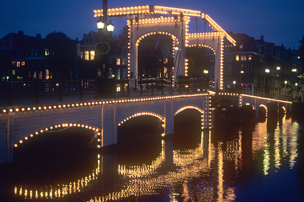 Europe Skinny Bridge, Amsterdam