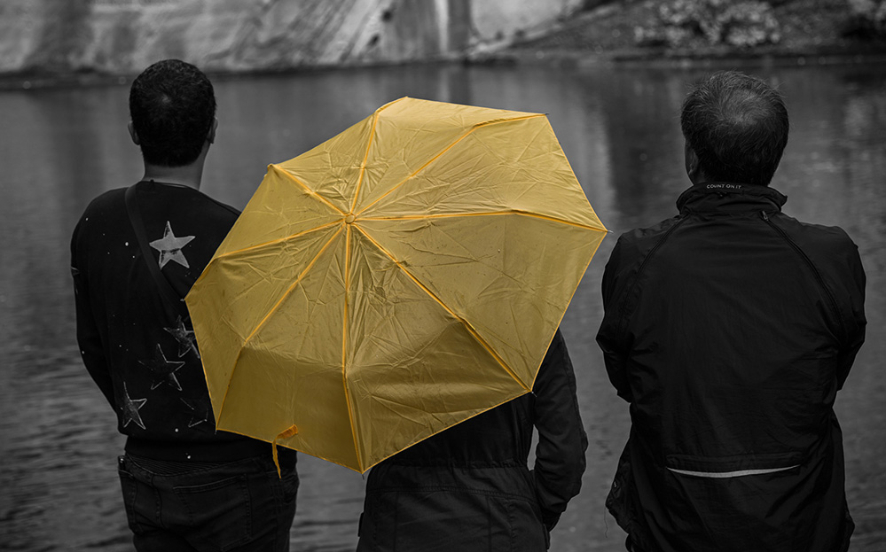 Europe Yellow Umbrella, Luzern