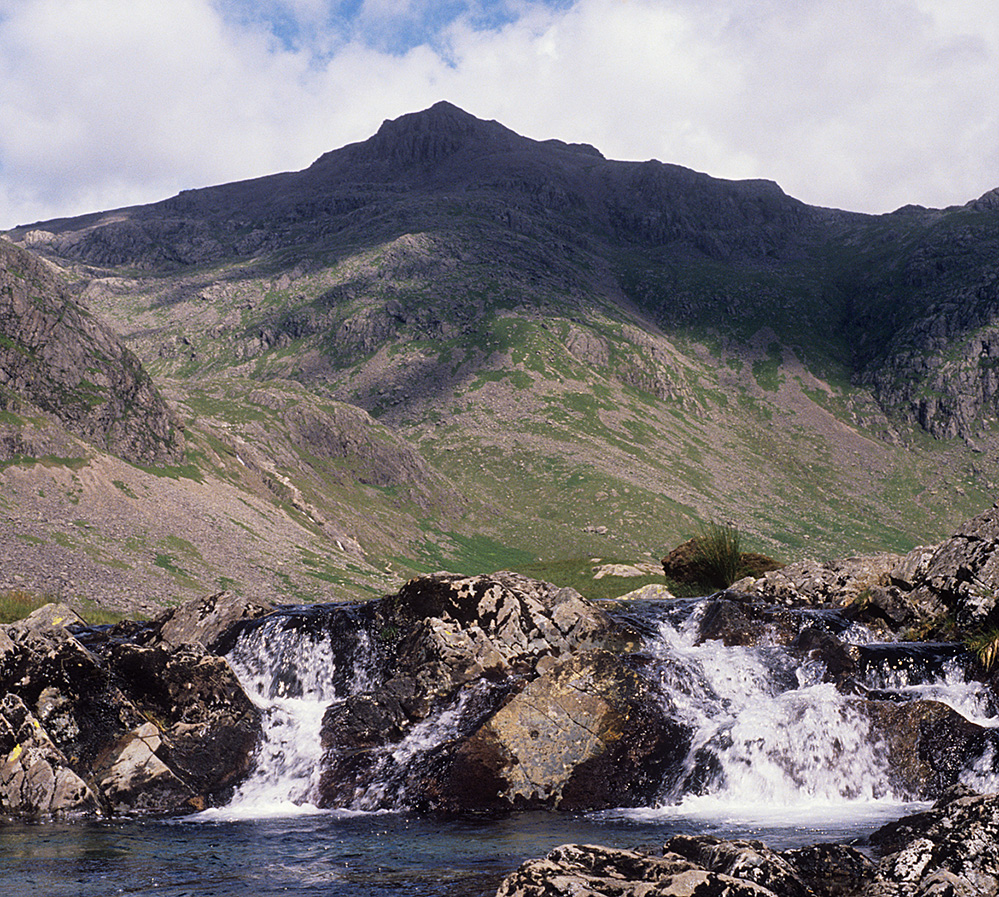 Scafell Pike from Upper Eskdale
