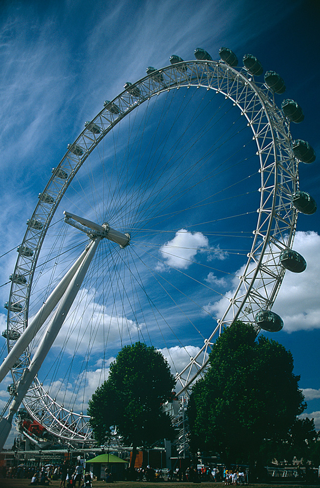 London Eye in the Sky