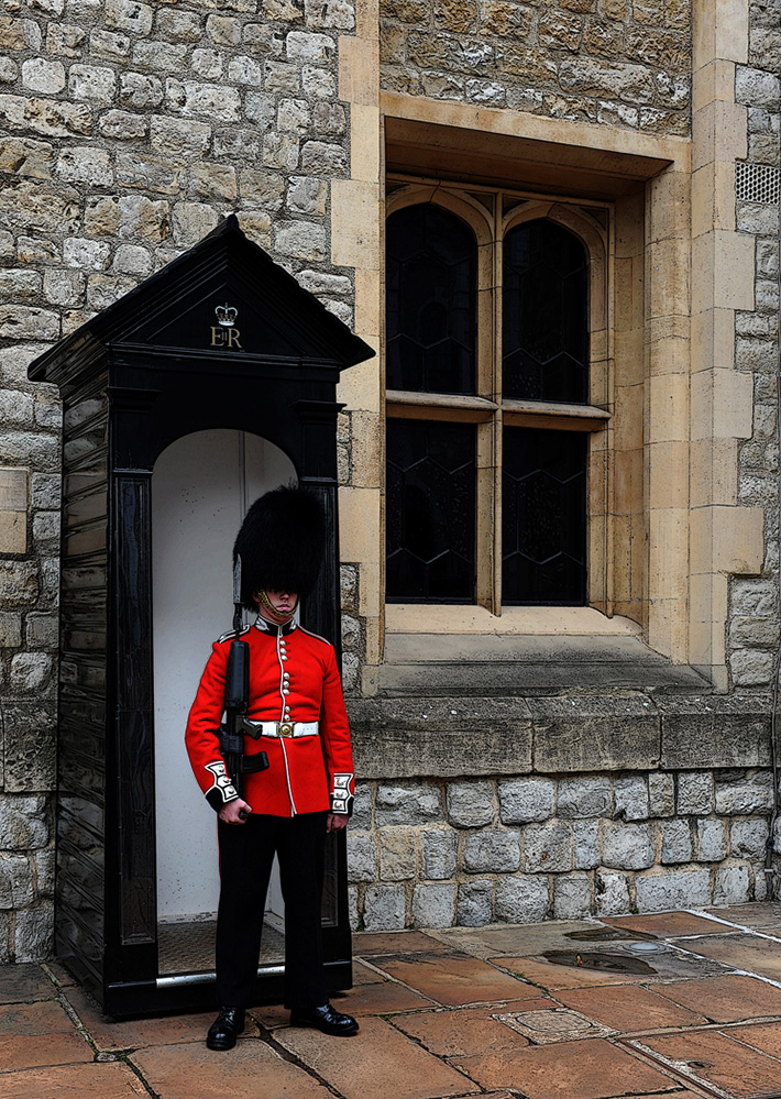 Sentry at the Tower of London