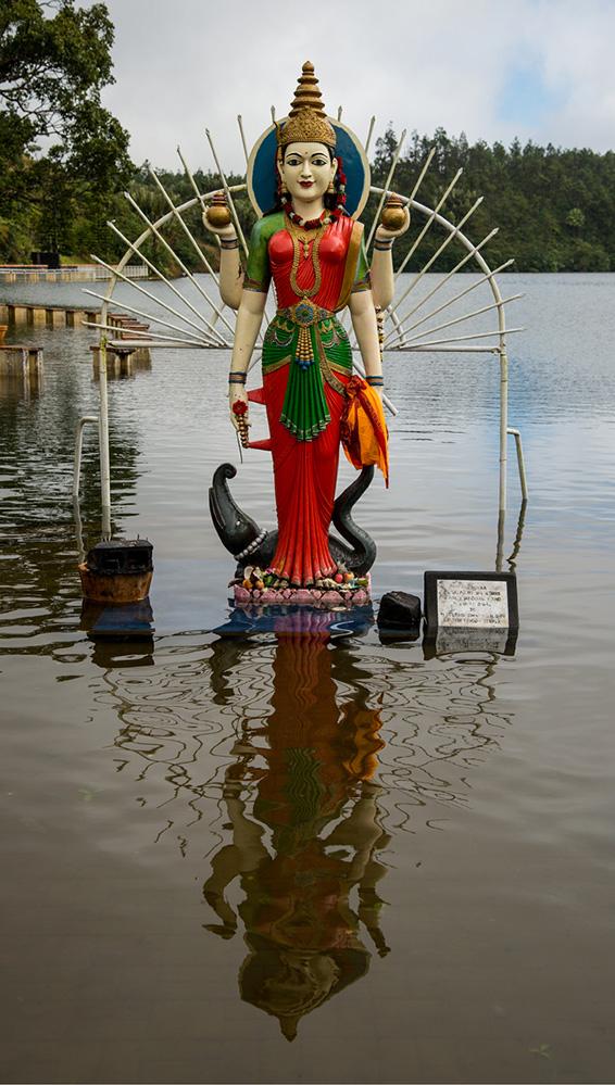 Hindu Godess Ganga, Grand Bassin
