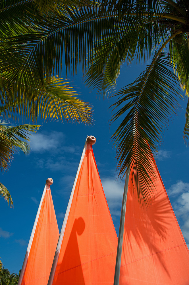 Three Orange Sails 2