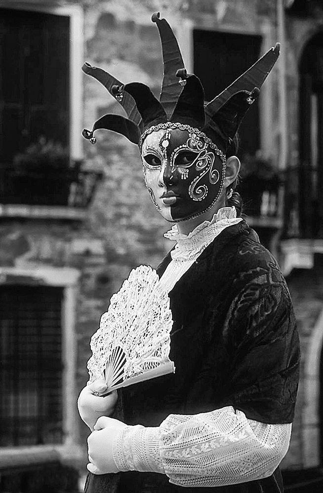 Carnival Girl, Venice