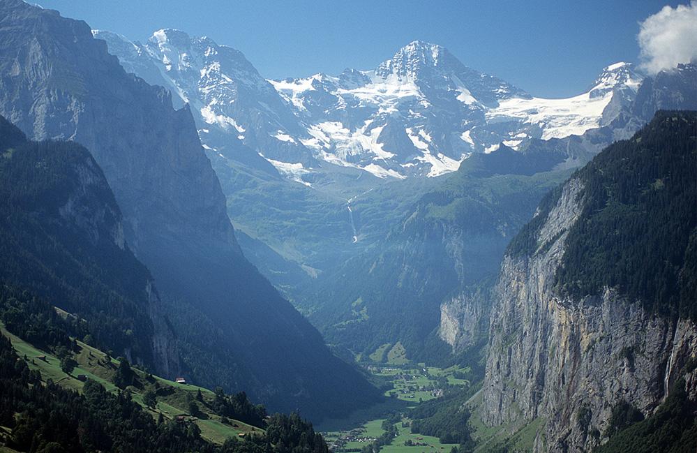 Lauterbrunnental Valley, Swiss Alps
