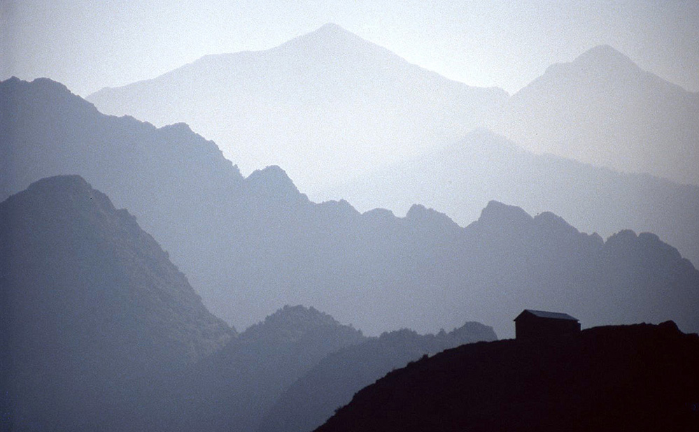 Mountain Ridges, Pyrenees