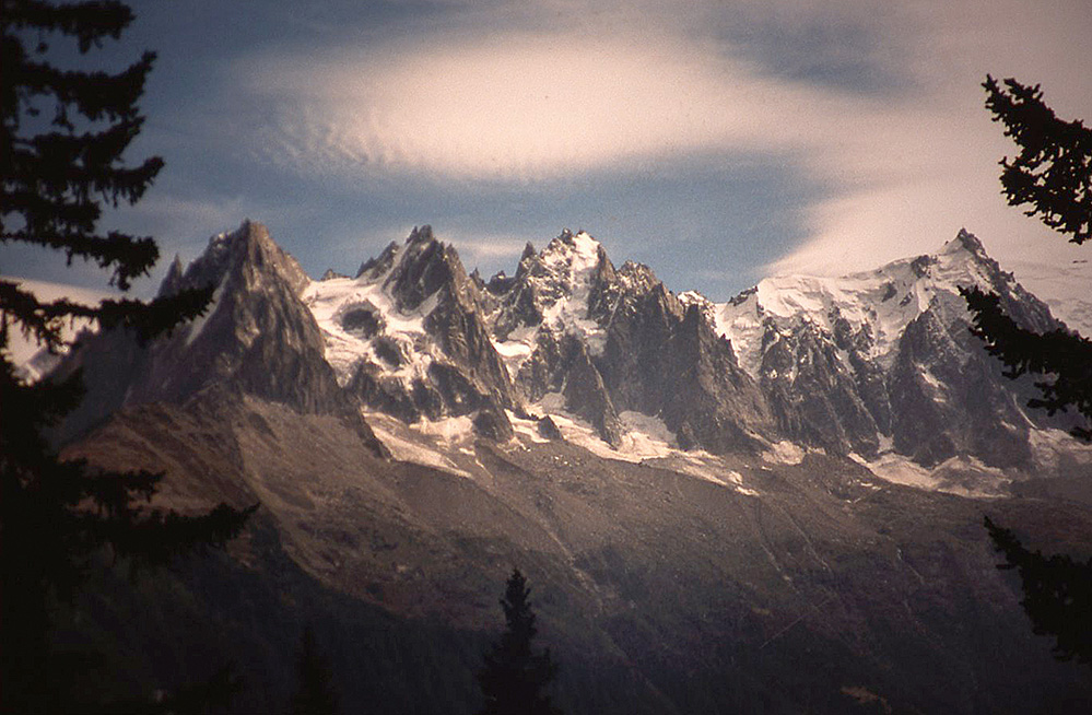 The Aiguilles de Chamonix, French Alps