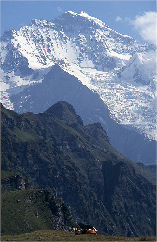 The Jungfrau, Swiss Alps