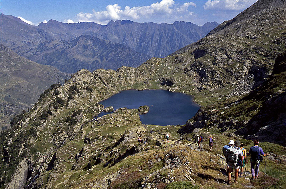 Walking in the Spanish Pyrenees