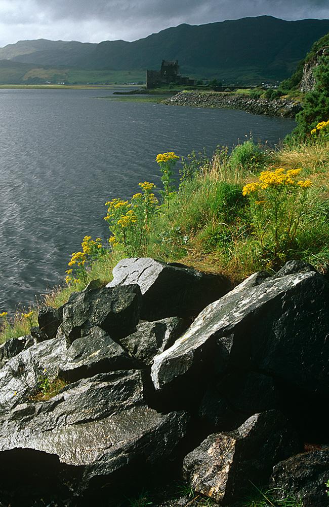 Eilean Donan Castle by Loch Duich