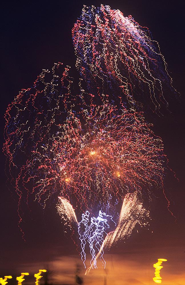 Firework Display at Leith, Edinburgh