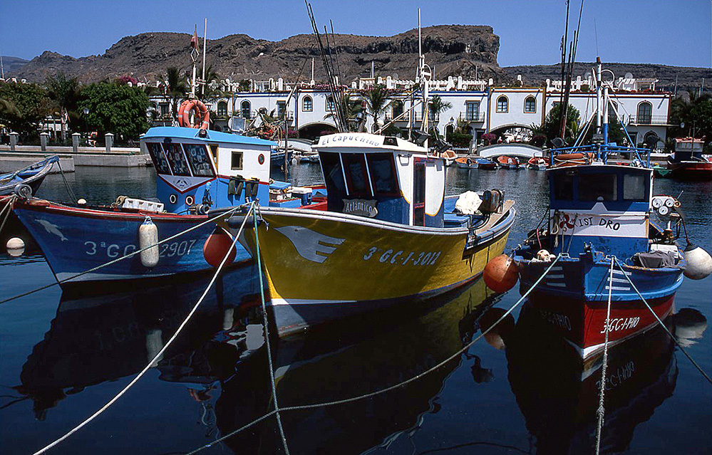 Puerto de Mogan Harbour, Gran Canaria