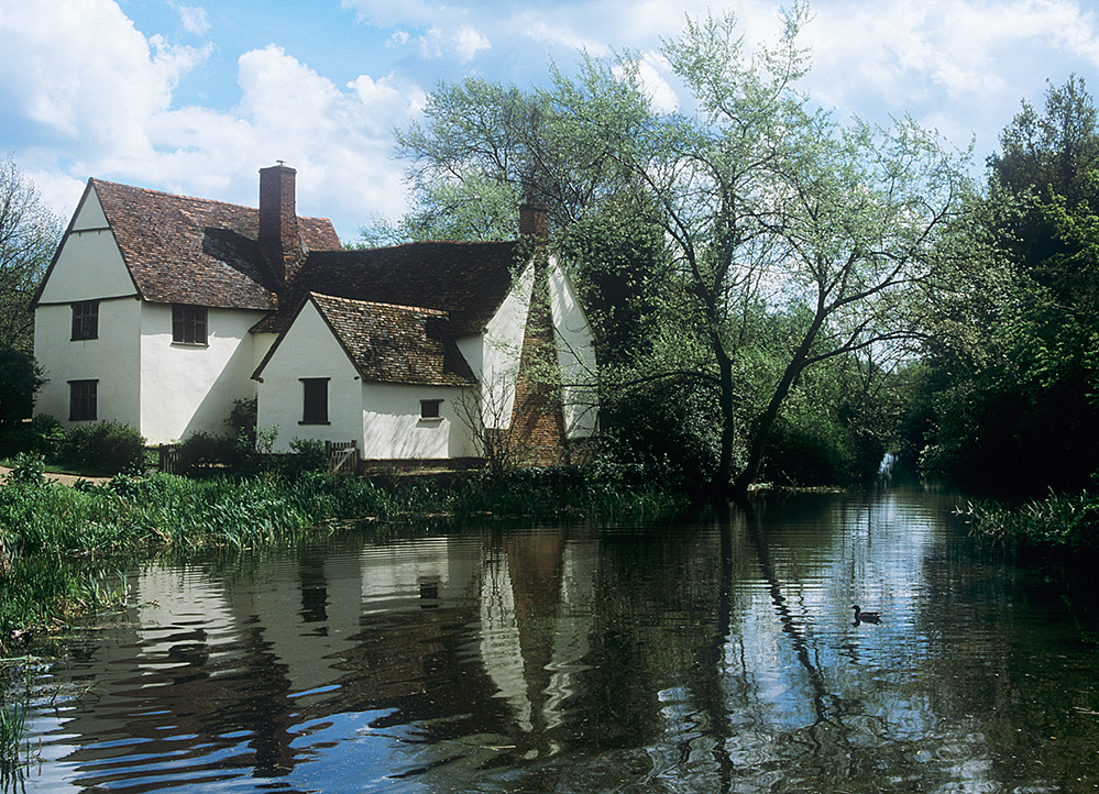 Wily Lott's Cottage (The Haywain), Flatford