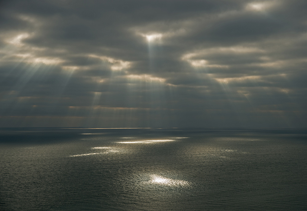 Light over the English Channel
