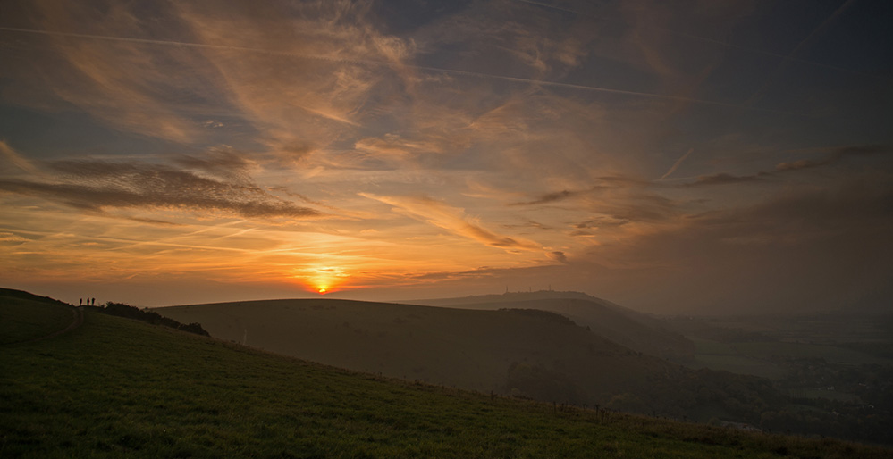 South Downs Evening