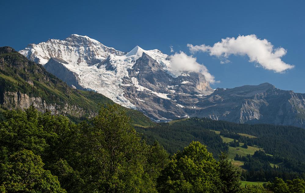 Jungfrau from Wengen