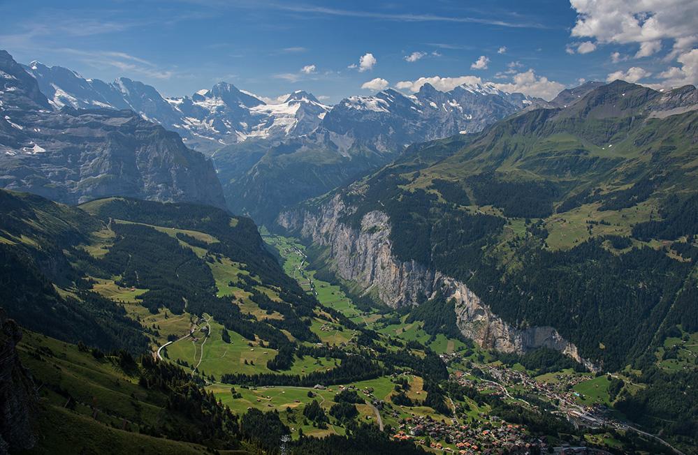 Lauterbrunnen Valley from Mannlichen